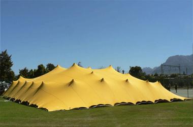 Gold Man Tent